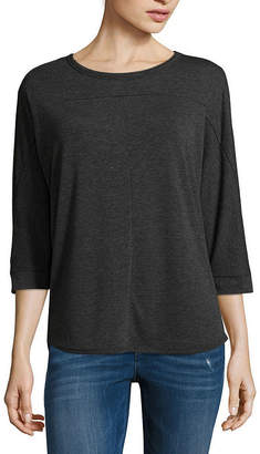 A.N.A 3/4 Sleeve Round Neck T-Shirt