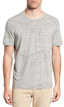 Billy Reid Fracture Line Crewneck T-Shirt