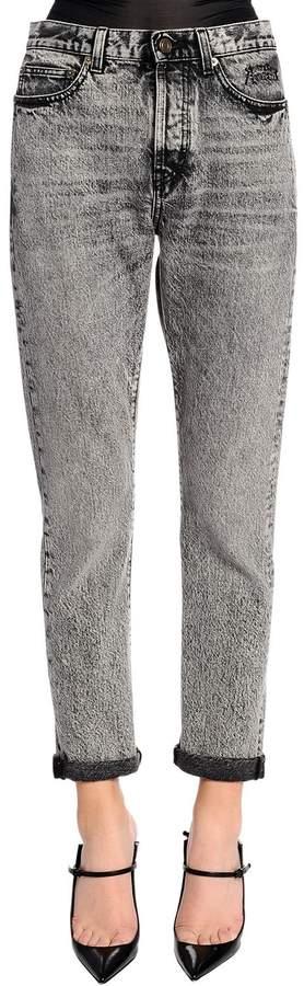 Enge Jeans Aus Stretch-Denim