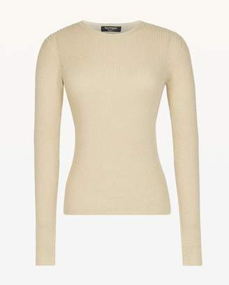 Juicy Couture Metallic Rib Knit Top