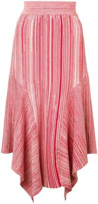 Yigal Azrouel melange knit skirt