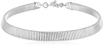 Kenneth Jay Lane Snake Chain Choker Necklace