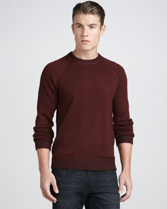 Theory Sanders JP Raglan Sweater, Realm