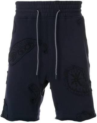 Wooyoungmi embroidered applique shorts