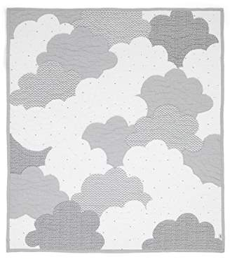 Mamas and Papas Coverlet for Cot Bed, Cloud, Nursery Bedding