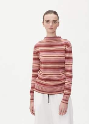 Marni Long Sleeve Striped Crew Neck Sweater
