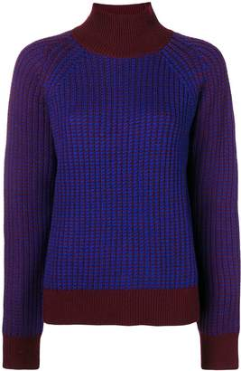 Victoria Victoria Beckham ribbed turtleneck sweater