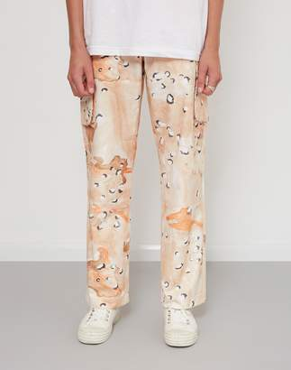 Soulland Craig Camouflage Casual Pants Tan