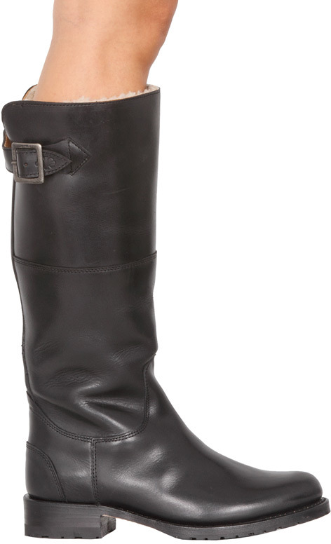 Koolaburra Amylee Riding Boot in Black - by