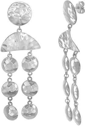 Willowbird Sterling Silver Circle Drop Earrings