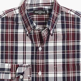 J.Crew Mercantile Flex washed shirt in plaid