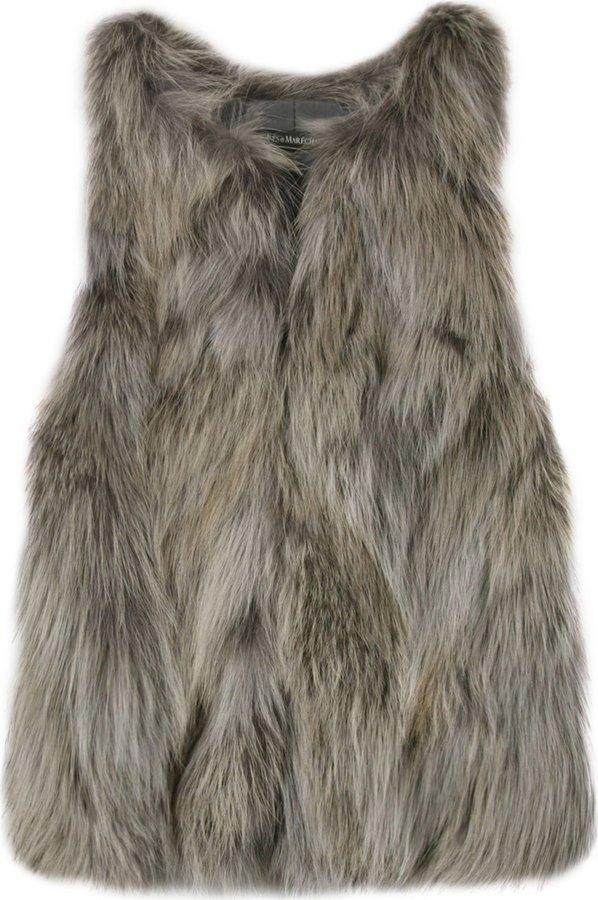 Inès & Marèchal Coyote Fur Vest