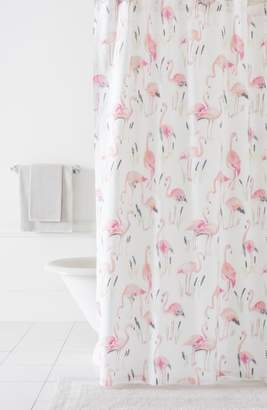 Pine Cone Hill Flamingos Shower Curtain