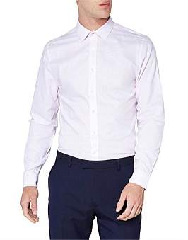 Ben Sherman Ls Formal Stitch Dobby