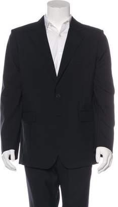 Balenciaga Wool Two-Button Blazer