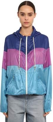 Etoile Isabel Marant Kyriel Light Color Block Nylon Jacket
