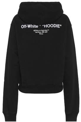 Off-White Cotton jersey hoodie