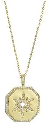 Shashi Octagon Pendant Necklace