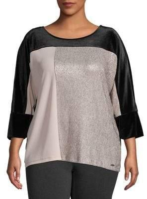 70c8bbf3bc3 Calvin Klein Plus Size Tops - ShopStyle Canada