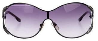 Valentino Gradient Shield Sunglasses