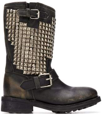 Ash studed boots