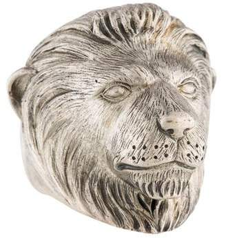 Theo Fennell Alias Lion Beastie Ring