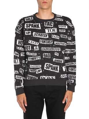 Moschino Round Collar Sweatshirt