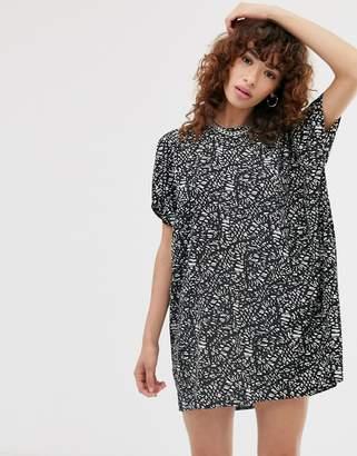 Noisy May monochrome tunic mini dress