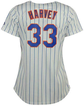 Majestic Women's Matt Harvey New York Mets Replica Cool Base Jersey