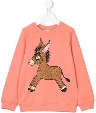 Mini Rodini donkey print sweatshirt