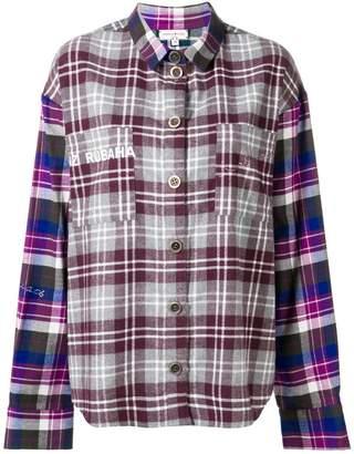 Natasha Zinko oversized check shirt