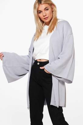 boohoo Molly Wide Sleeve Kimono Cardigan