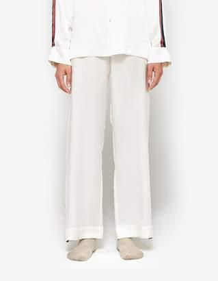 Asceno Pyjama Bottom in Ochre Bold Stripe