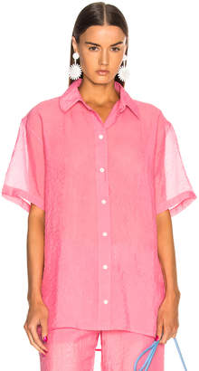 Victoria Beckham Short Sleeve Shirt