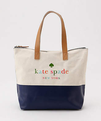 Kate Spade (ケイト スペード ニューヨーク) - [kate spade new york childrenswear] キャンバストートバッグ(8681416)