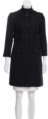 Mayle Structured Wool Coat