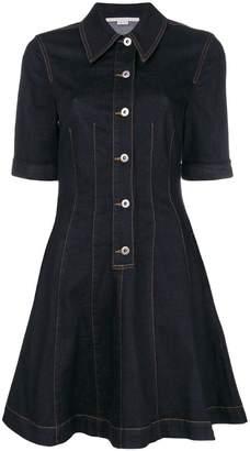 Stella McCartney fit & flare denim dress