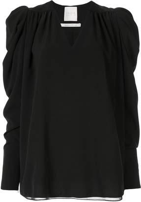 Ingie Paris V-neck long-sleeved top