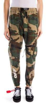 Off-White Parachute Camouflage Cotton Cargo Pants