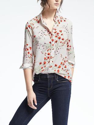 Easy Care Dillon-Fit Floral Shirt $78 thestylecure.com