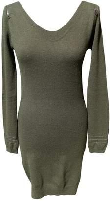Berenice Khaki Wool Dress for Women