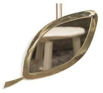 Cosydar Leaf Brass Mirror
