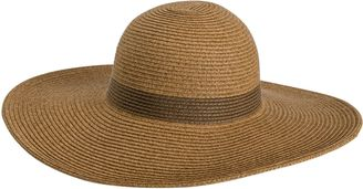 L Space Sunday Funday Beach Hat $64 thestylecure.com