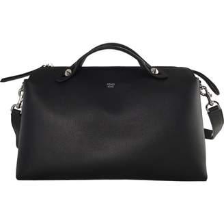 Fendi By The Way Black Leather Handbag