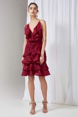 Keepsake SHINE DRESS raspberry