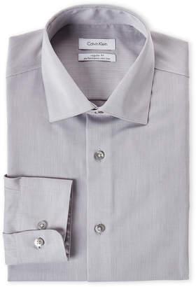 Calvin Klein Smoke Regular Fit Dress Shirt