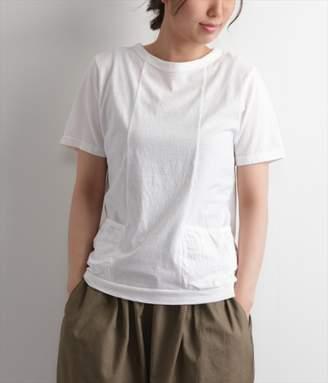 ラフィーコットンポケットTシャツ(A・ホワイト)