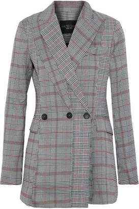 Walter W118 By Baker Saundra Prince Of Wales Checked Woven Blazer