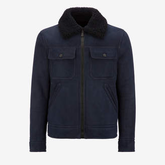 Bally Shearling Trucker Jacket
