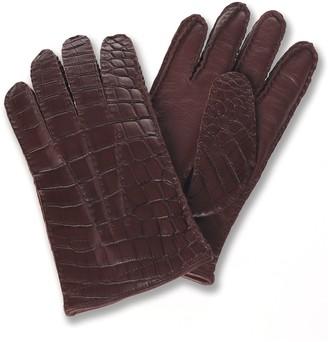 Brooks Brothers Alligator Gloves